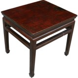 Original Brown Painted Side Table