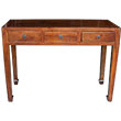 Brown Three Drawers Hall Table