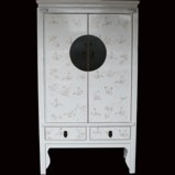 White Butterflies Wedding Cabinet