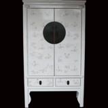 White Butterflies Wedding Cabinet
