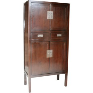 Brown Chinese Wedding Cabinet