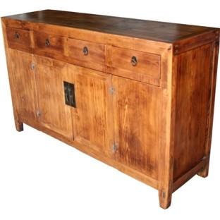 Original Natural Wood Sideboard