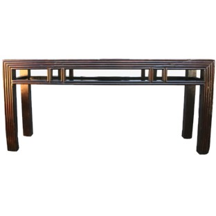 Brown Ming Style Console Table