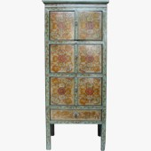Original Painted Tibetan Cabinet