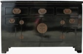 Black Lacquer Sideboard/Buffet