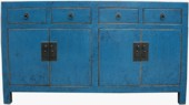 Original Chinese Blue Sideboard/Buffet