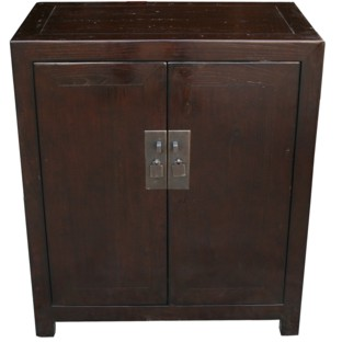 Mandarin Chinese Large Bedside Table