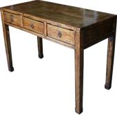 Original Natural Elm Wood Desk