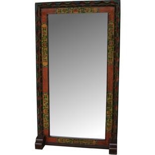 Original Huge Floor Standing Tibetan Mirror