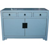 Light Grey Two Door Three Drawers Sideboard/Buffet