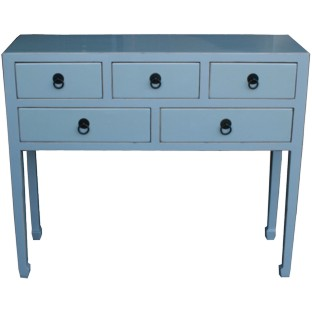 Smoky Grey Console Table