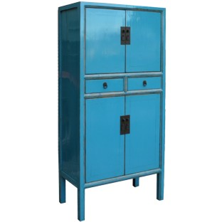 Blue Chinese Wedding Cabinet