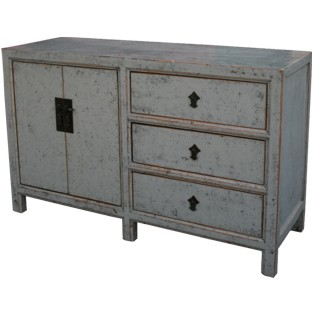 Grey Lacquered Sideboard Buffet