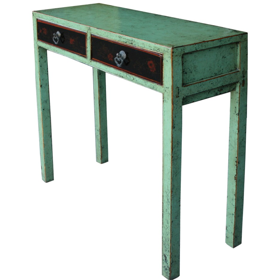 Chinese console for Painted foyer tables