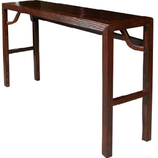 Original Reddish Brown Hall Table