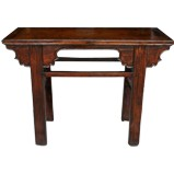 Original Brown Console Table Hall Table