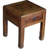 Small Stool with Drawer /Side Table