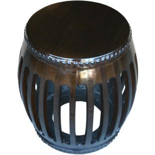 Original Chinese Wood Drum Stool