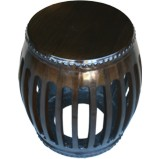 Original Chinese Wood Drum Stool