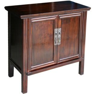 Original Dark Brown Chinese Cabinet