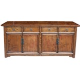 Original Elm/Walnut Chinese Sideboard