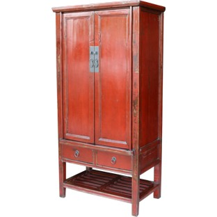 Red Medium Wedding Cabinet