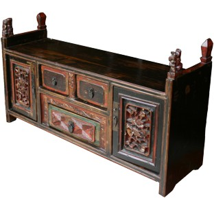 Antique Chinese Carved Chest