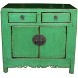 Original Green Side Cabinet