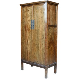 Original Large Solid Wood Wardrobe