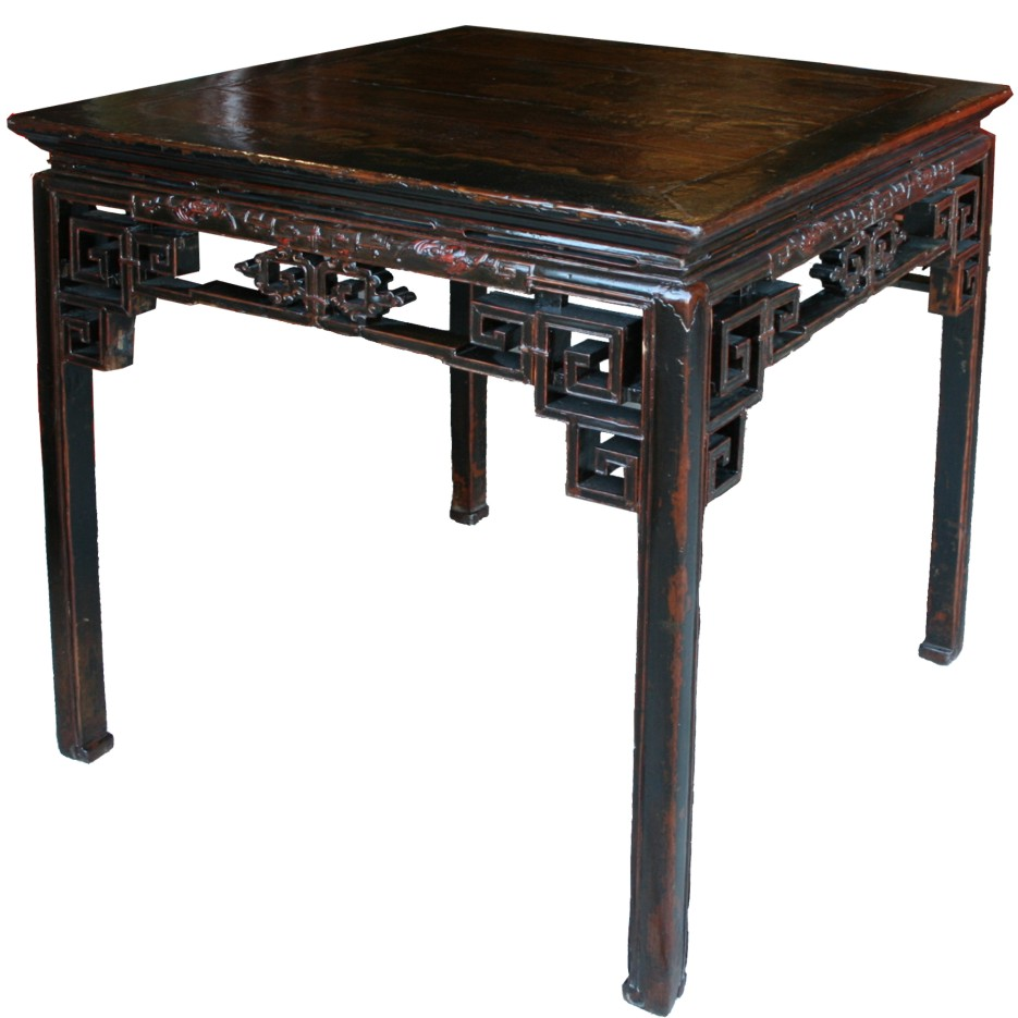 Oriental Dining Table: Chinese Dining Table Original Carved