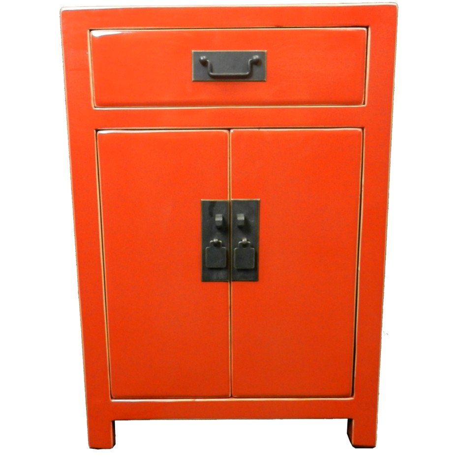 red lacquered furniture. Red Lacquered Bedside Table Furniture