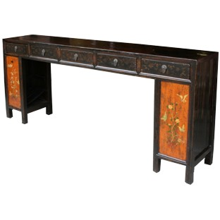 Original manchurian Four-Drawer Painted Long Table