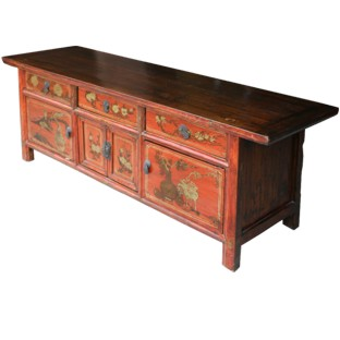 Original Painted Low Sideboard/TV Unit