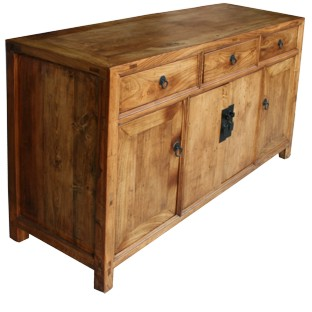 Original Natural Wood Sideboard