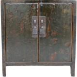 Original Green Bedside Cabinet w/Patina