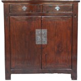 Original Dark Brown Chinese Cabinet