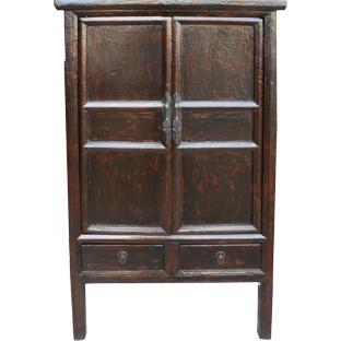 Original Old Black Medium Cabinet