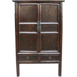 Original Old Black Medium Cabinet