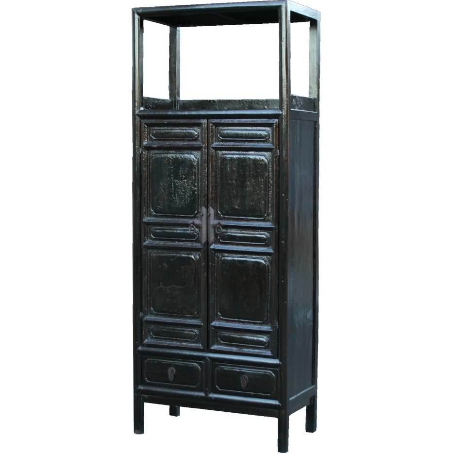 Old Book Display Case ~ Chinese large cabinet