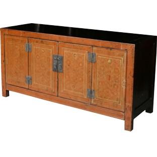 Original Manchurian Painted Sideboard