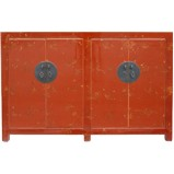 Chinese Red Sideboard