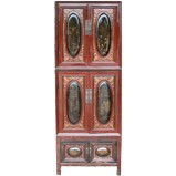 Original Antique Chinese Stacking Cabinet
