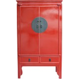Red Chinese Wedding Cabinet