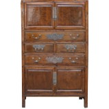 Original Burl wood Chinese Wardrobe