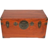 Dark Camphor Wood Storage Box