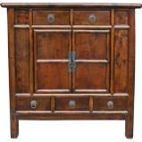 Original Chinese Dark Brown Cabinet