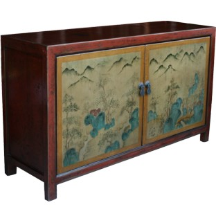 Original Painted Chinese Sideboard