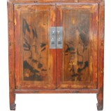 Original Painted Chinese Cabinet