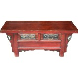 Original Kang Table Carving