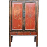 Red Chinese Wedding Cabinet Original